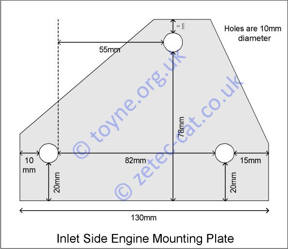 Inlet Engine Mounting Plate